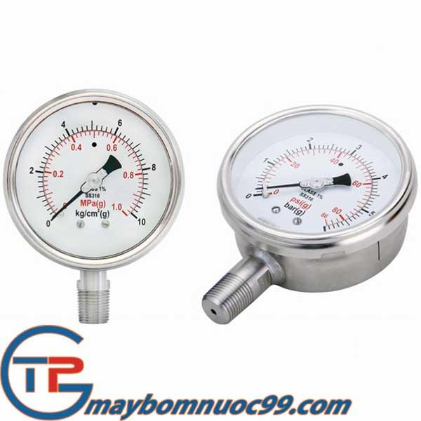 Đường kính đồng hồ áp suất 100-150mm